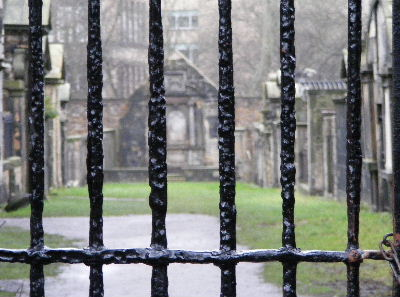 The Covenanters Prison at Greyfriars Kirkyard