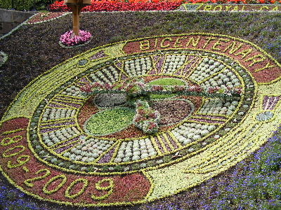 Floral Clock in Princes Street Gardens