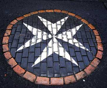 Site of original Cross of St John, the Canongate, Edinburgh