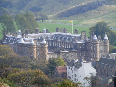 The Palace seen from Calton Hill