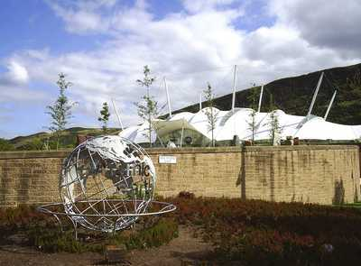 Globe at Dynamic Earth